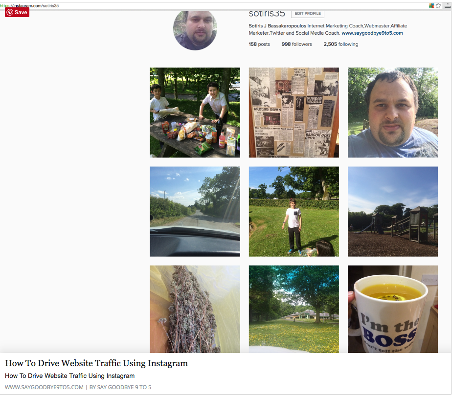 How To Drive Website Traffic Using Instagram