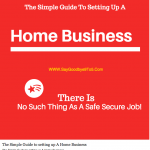 The Simple Guide to setting up A Home Business